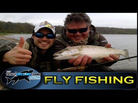 Beginners Fly Fishing Tips In Reservoirs - TAFishing Show