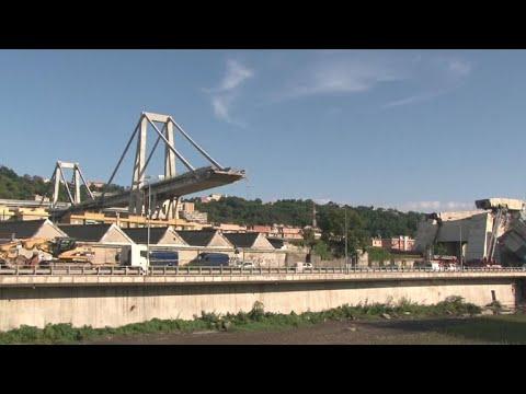 Deadly Italian bridge collapse in Genoa raises questions