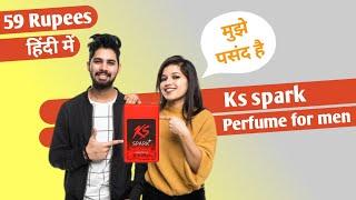 Ks Spark Perfume for men ( budget friendly perfume ) लड़कियों को ज्यादा पसंद है