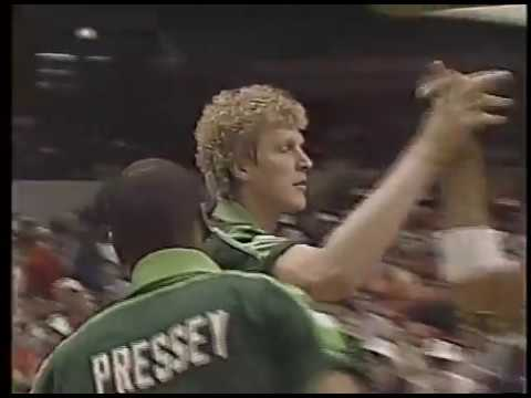 Milwaukee Bucks @ New York Knicks 4/10/87 Part 1 WVTV Channel 18