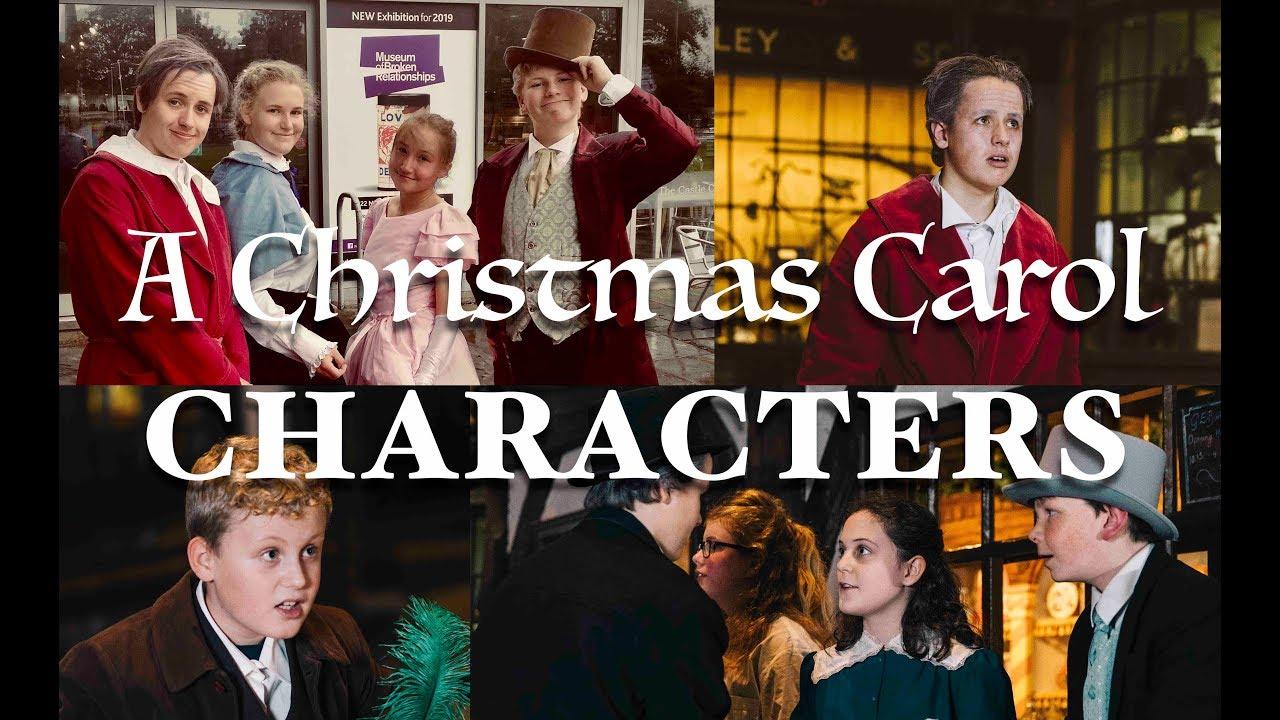 A Christmas Carol Characters.A Christmas Carol Characters
