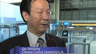 LAX Airport Welcomes China Southern Airlines A380