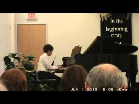 Piano recital Jason Lin 2010