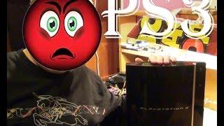 PS3 Fat  вот облом так облом(неудавшийся ремонт)(•̪●)