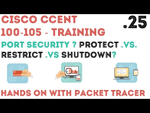 Cisco - CCENT/CCNA R&S (100-105) - Port Security Overview .25