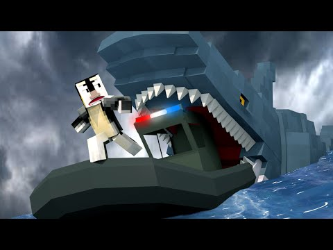Jaws Movie 2 - Uncovering Missing Shark Secret! (Minecraft Roleplay) #3