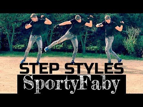 shuffle dance lernen step styles kick f r fortgeschrittene deutsch english subtitles. Black Bedroom Furniture Sets. Home Design Ideas
