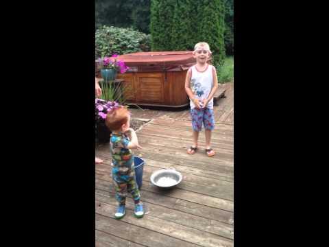 Ice Bucket Challenge with Adler