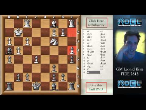 Beat the Ruy Lopez with the Berlin Variation - GM Leonid Kritz (EMPIRE CHESS)