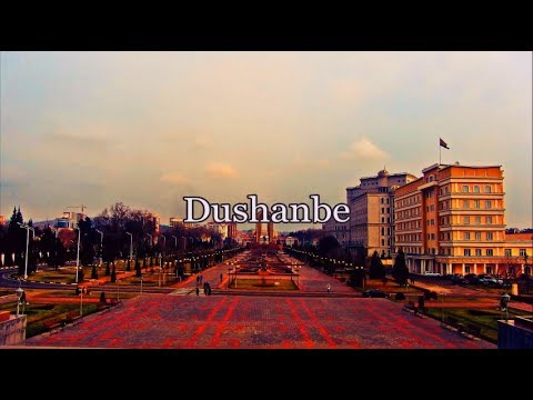 Dushanbe - Capital of Tajikistan / Душанбе - столица Таджикистана