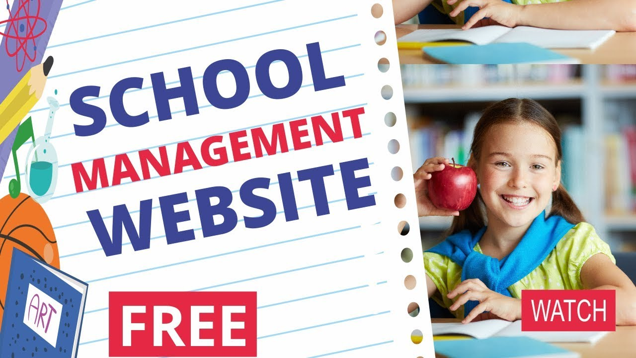 FREE School Management WordPress Website Tutorial - Attendance, Results, Timetable, Notifications
