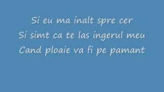 Despre tine cant Versuri Dan Balan Lyrics