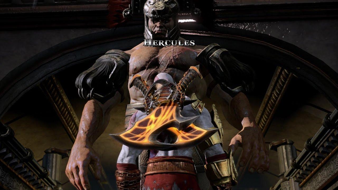 [PS4] God of War 3 (Remaster) - Hercules Boss Battle ...
