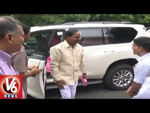 CM KCR To Meet PM Modi Today Over Issues In Telangana State | New Delhi | V6 News