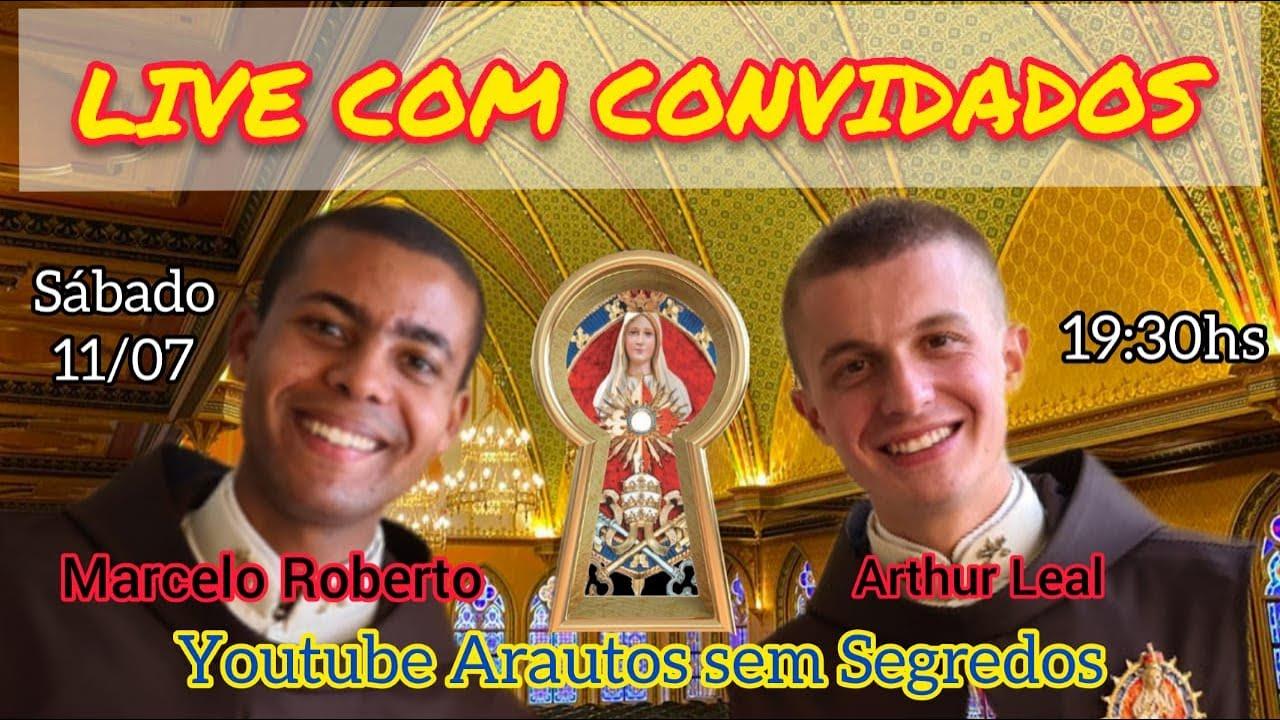Live de perguntas e respostas com o Sr. Marcelo e o Sr. Arthur – 11 de julho de 2020