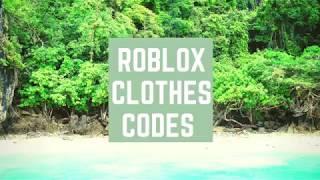 ROBLOX Codes Pt.1 ~ Casual Clothes