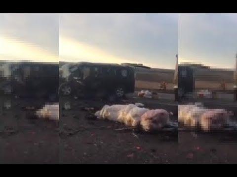 Шесть граждан Азербайджана погибли в ДТП на Ставрополье