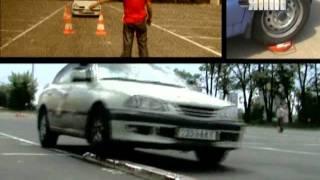Уроки летнего контраварийного (экстремального) вождения в Школе Штурман г.Киев&ЯППІ_5й канал