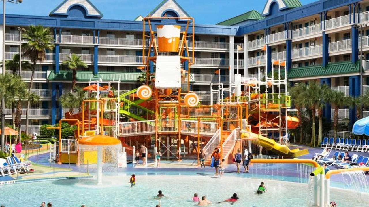 holiday inn resort orlando suites - waterpark (old nickelodeon