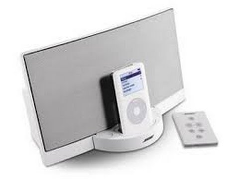 bose apple ipod docking station series i youtube. Black Bedroom Furniture Sets. Home Design Ideas