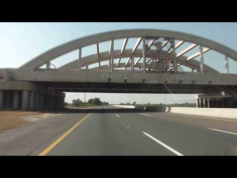Motorway M2 1 Nov 2010 Lahore Islamabad Pakistan