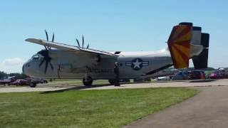 US Navy Grumman C-2A Greyhound