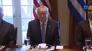 Trump meets with Greek PM at White House