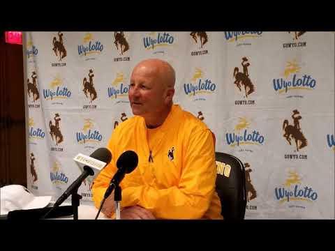Wyoming Head Coach Craig Bohl Talks After Hawaii Win
