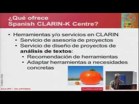 El Clarin-K-Centre español visto como una una infraestructura orientada al usuario: