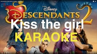 "Kiss the Girl ""Descendants 2"" Instrumental (Karaoke Version)"