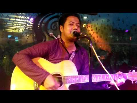Megher pore alor vire cover by changish khan at Tune & bite restaurant.