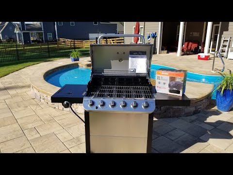 New Char-Broil Gas Grill Burn-in And Seasoning