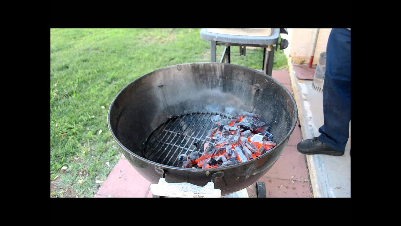 How To Start a Weber Charcoal Grill & How To Start a Weber Charcoal Grill - YouTube