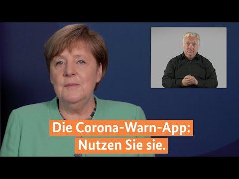 Kanzlerin Merkel zur
