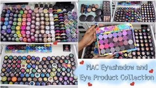 M·A·C Eyeshadow and Eye Product COLLECTION 💕 Makeup Collection 2017