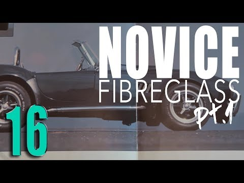 // Composite Repair with an Expert, Fiberglass Pt.1, Pilgrim Cobra Kit // SOUP Classic Motoring 16
