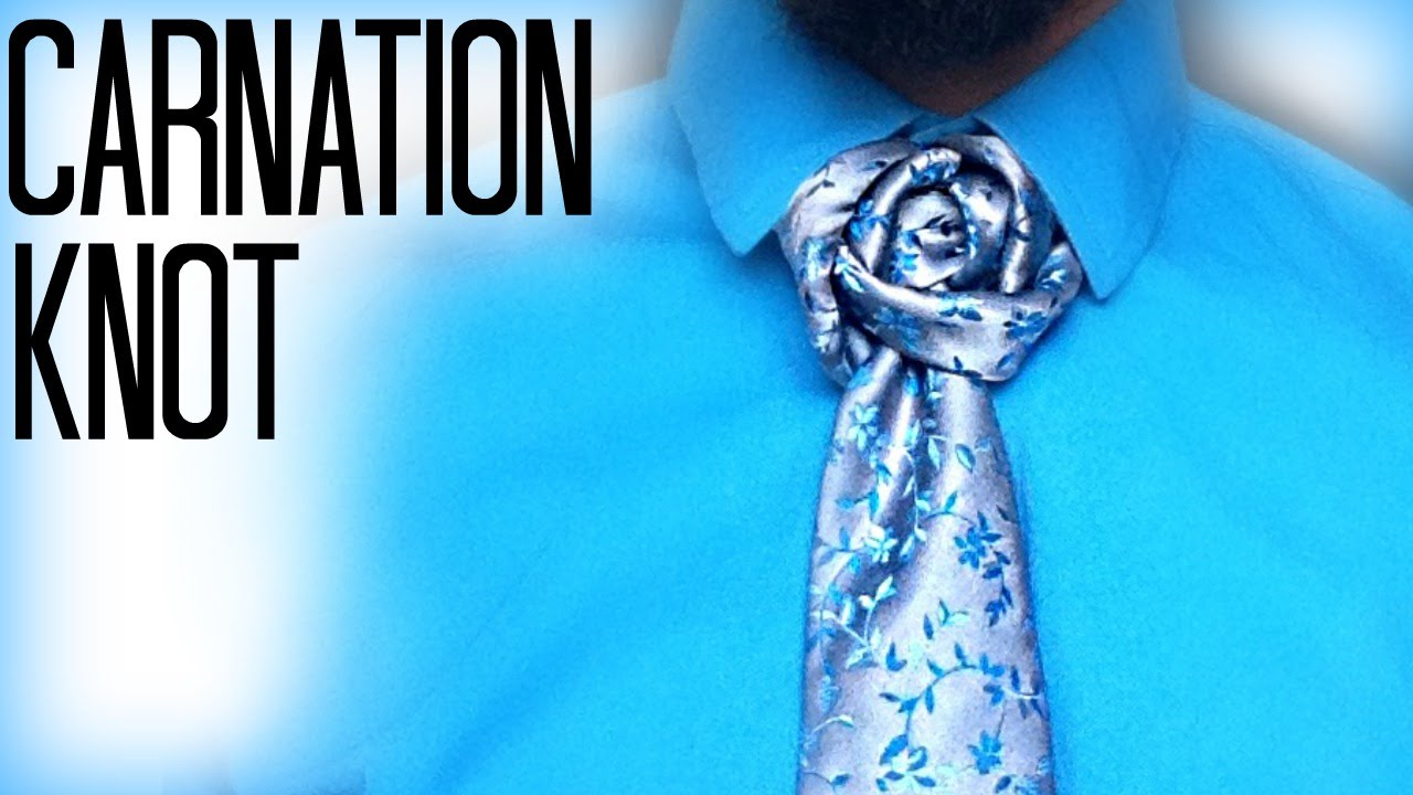 How to tie a tie the carnation knot youtube ccuart Image collections