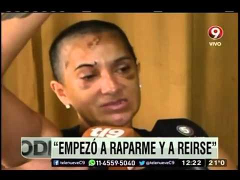 Golpeada y torturada por su marido  Noticias tl9  Canal 9