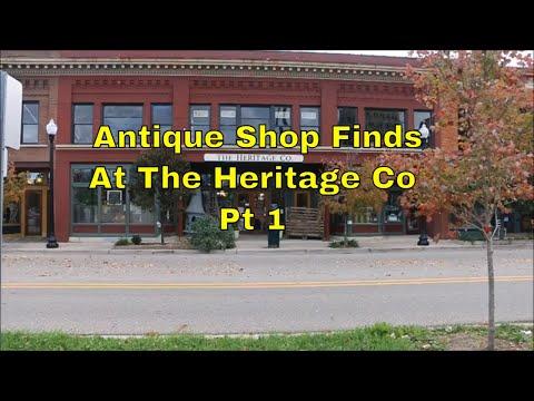 Antique Shop Finds At The Heritage Co  ~ Pt 1 ~ by Old Sneelock's Workshop