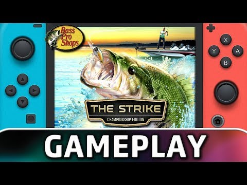 Bass Pro Shops The Strike Championship Edition First 10 Minutes On Switch Youtube