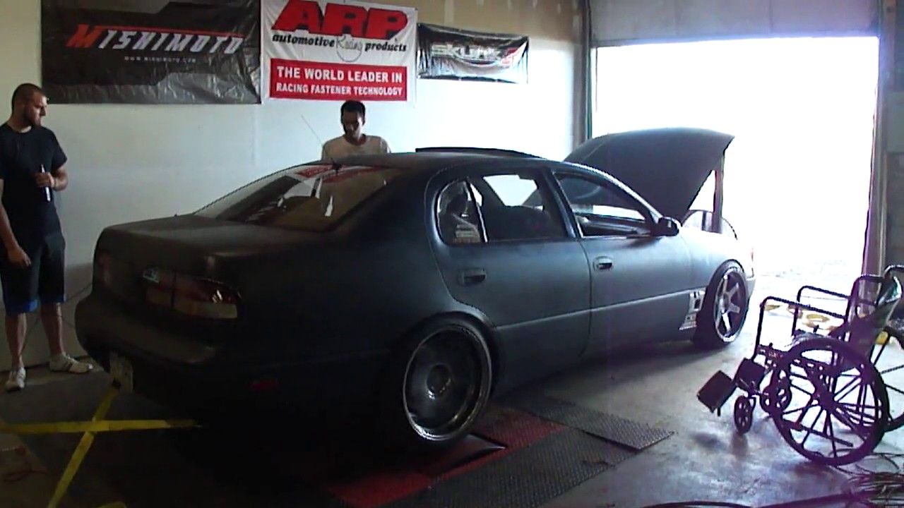 My old 1994 1JZGTE VVTi Gs300 (JZS147) R154 dyno -motor is now in an aristo-
