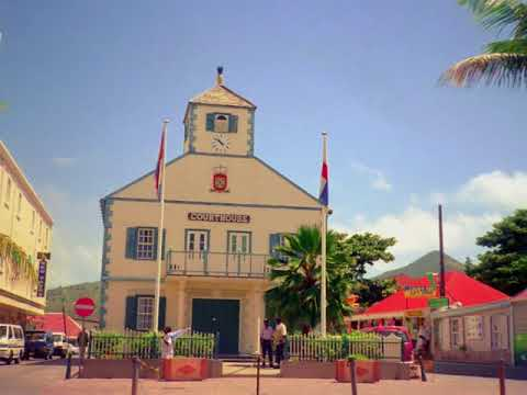 Philipsburg on Sint Maarten, a tourist paradise before category 5 Hurricane Irma came along