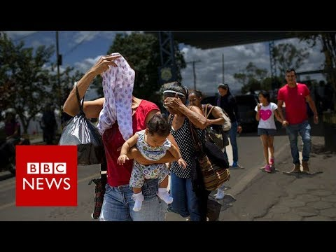 Venezuela crisis: Why has 7% of the population fled the country? BBC News