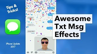 How to do Text Effects in Messages App - iPhone