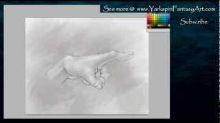 How to draw a - Hand ANATOMY Study