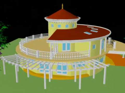 Round House Design #1 YouTube