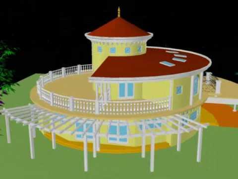 Amazing Round House Design #1