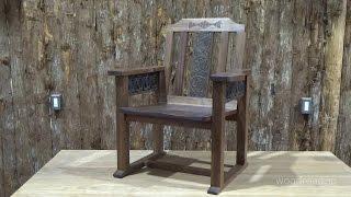 ウッドロード木工教室に通われている生徒さんの作品紹介。 今回は木彫の...
