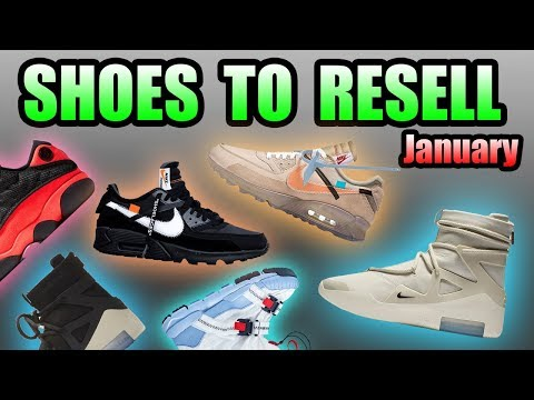 Most Hyped Sneaker Releases In JANUARY | Shoes To RESELL In January 2019