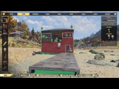 Fallout 76 C.A.M.P. Glitch